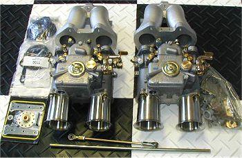 Triumph Dual Weber 45 DCOEs TR2 TR3 TR4