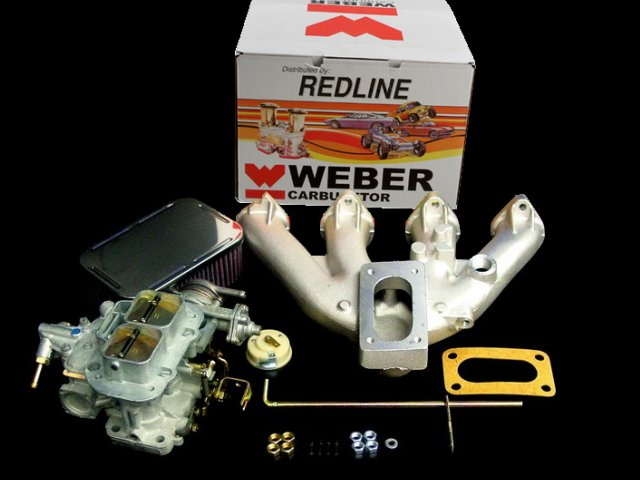BMW Weber carb conversion kit