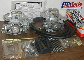 BMW Weber carb conversion kit
