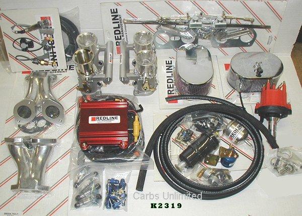 VW / Porshe Dual Port Conversion Kit Redline Distributor