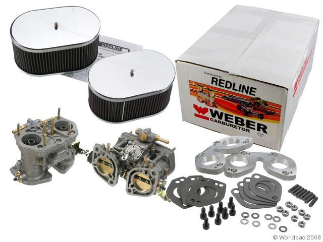 PORSCHE 912 Dual IDF Weber Kit