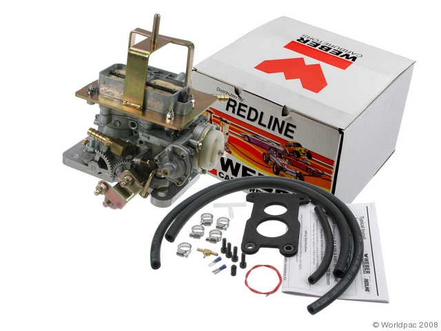 JEEP Weber carb conversion kit 38mm Weber DGES