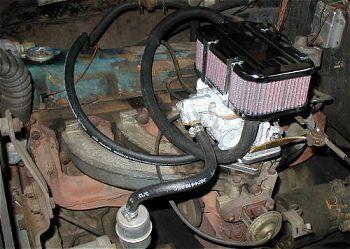 Redline conversion kit with Weber carb  CHRYSLER / DODGE 6 cyl