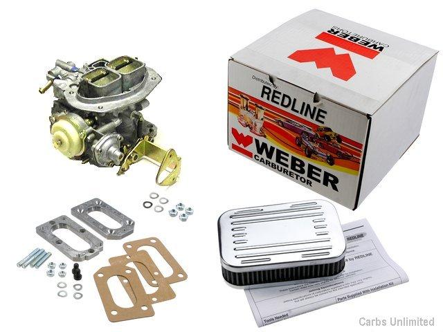 MAZDA / Courier Weber carb Conversion Kit