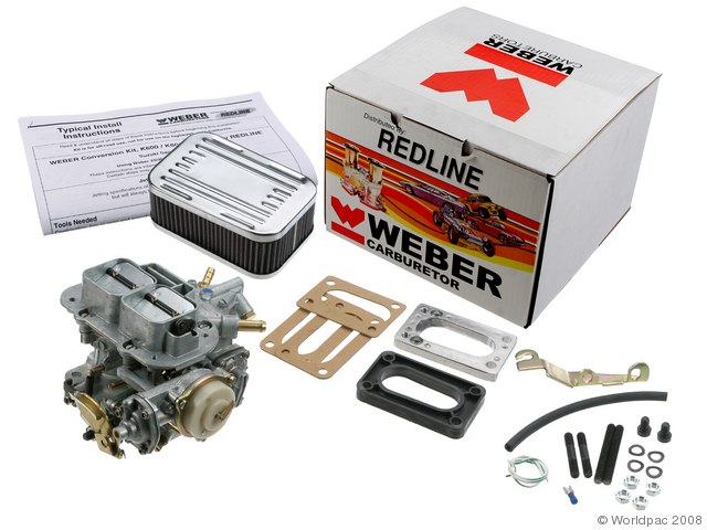 ISUZU Weber Conversion kit