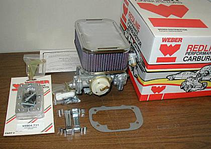 Subaru DGEV Weber conversion kit