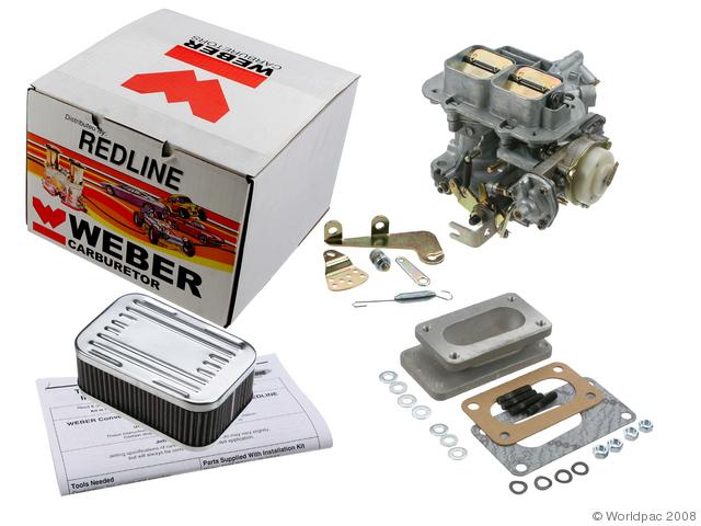 Toyota Corolla Weber Carb conversion kit