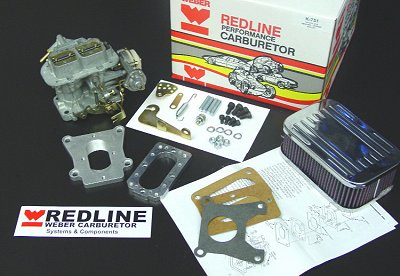TOYOTA Tercel Weber Carb Conversion kit